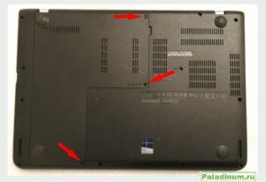 Как заменить жесткий диск? Lenovo ThinkPad