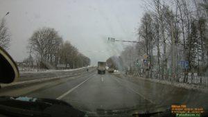 Москва-Минск на автомобиле. Смоленская область. Мобильный пост ДПС.