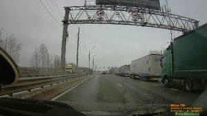 Минск-Москва на автомобиле. Граница на замке.