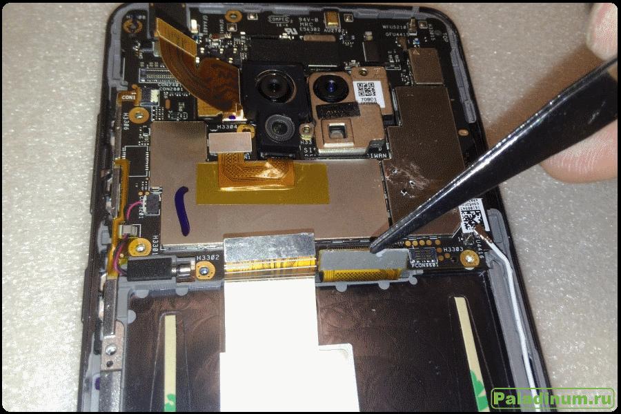 Asus, ZenFone, AR, VR, ZS571KL, обзор устройств, разборка, разбираем, что внутри, как заменить экран, как заменить аккумулятор, замена экрана, ремонт, своими руками, Aliexpress,
