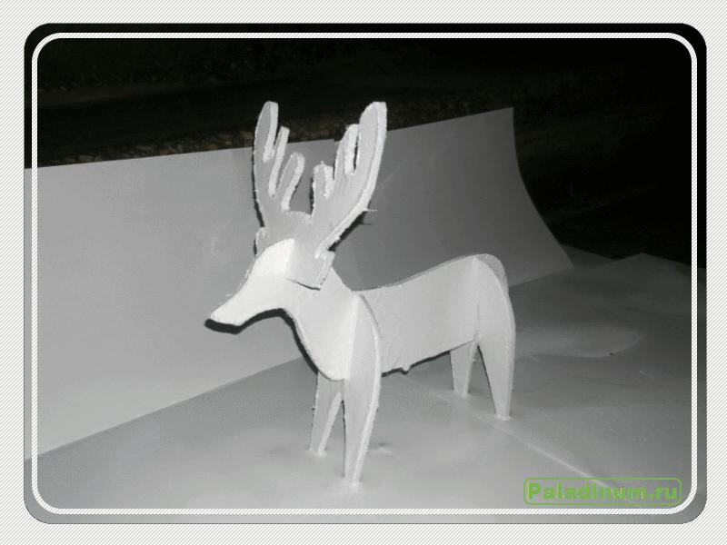 Поделка на новый год; рождественский олень; hand made; своими руками; игрушка; рождество;