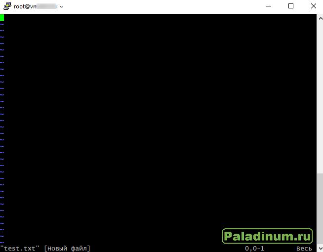 VPS; Hosting; Ubuntu; UNIX; Linux; Несколько сайтов; редактор VI: putty;