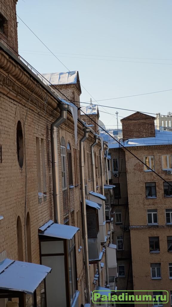 Москва; Войковская; Жилищник; крыша; снег; уборка; без мозга;